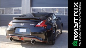 Nissan 370Z NISMO | Armytrix Valvetronic Cat-back Exhaust