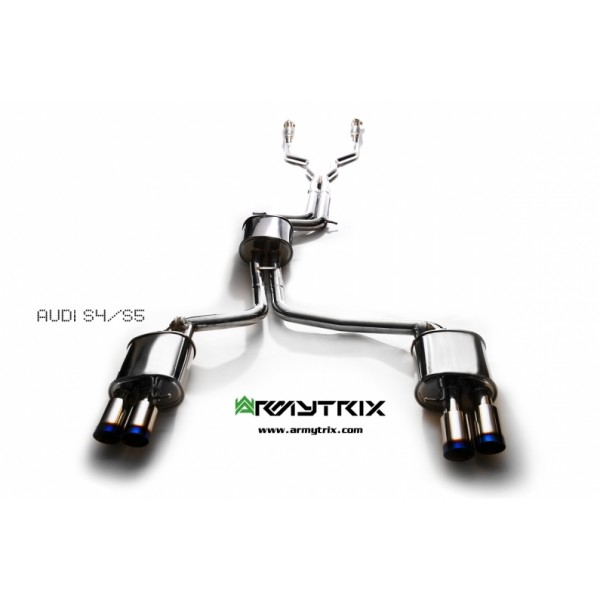 Armytrix Audi A4 B8 3.0 TFSI Cat-back