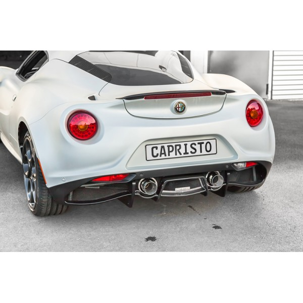 Capristo Alfa Romeo 4C Cat-back