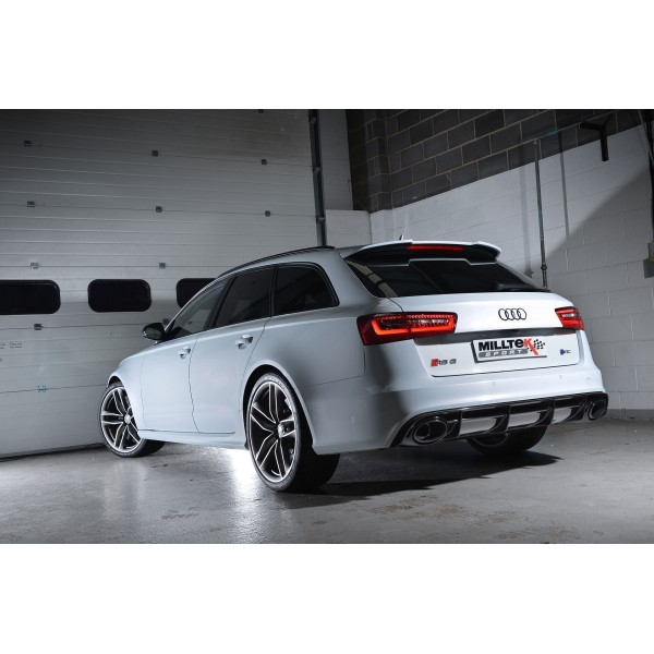 Milltek Sport Audi RS6/RS7 C7 4.0 TFSI Cat-back Road+