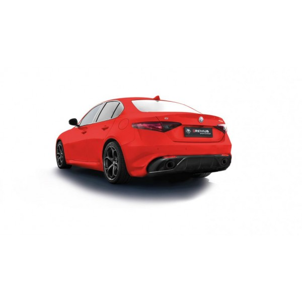 Remus Alfa Romeo Gulia Veloce 2.0 Turbo Non-resonated Cat-back