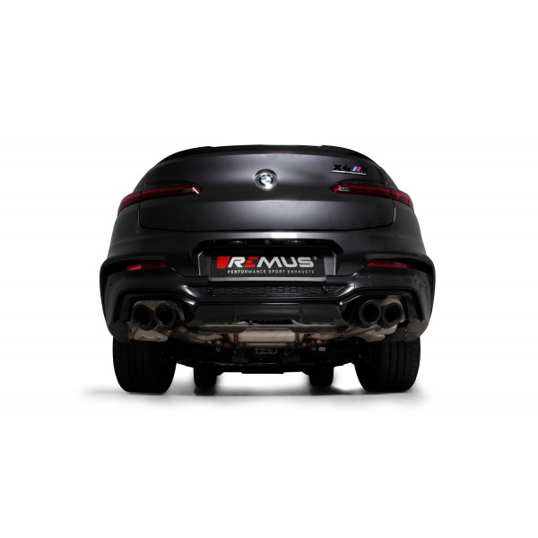 Remus BMW X4M / X4M Competition F98 Cat-back RACING